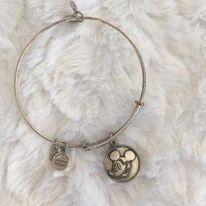 alex and ani / mickey mouse adjustable bracelet